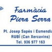 logotip Farmacia Piera Serra